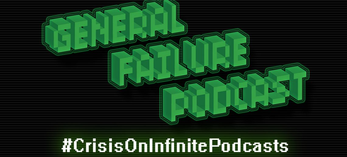#CrisisOnInfinitePodcasts